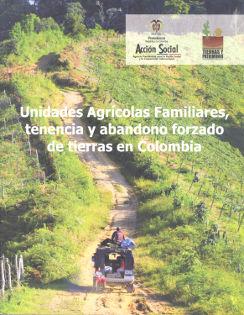 Portada libro Unidades Agrícolas Familiares