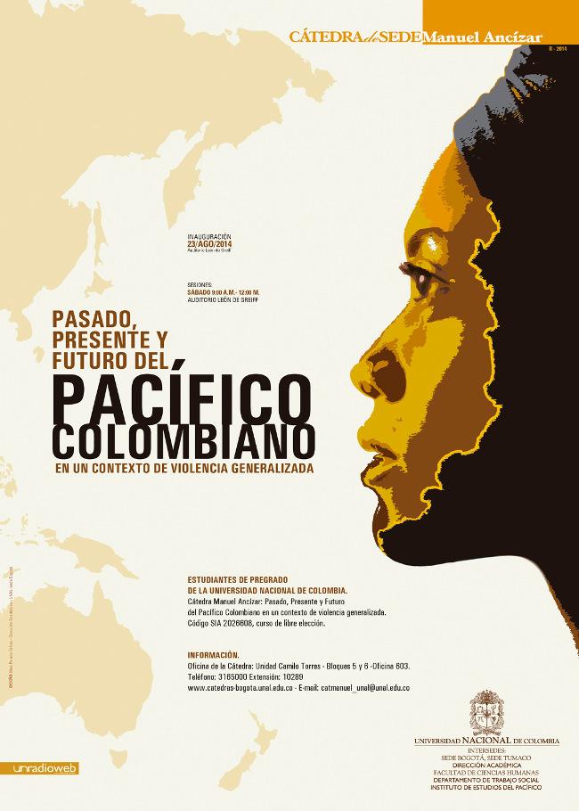 Poster Cátedra Manuel Ancízar Pacífico Colombiano