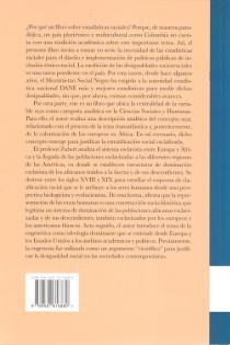 Contraportada libro Más espeso que la sangre: la mentira del análisis estadístico según teorías biológicas de la raza