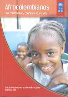 Portada libro Afrocolombianos sus territorios y condiciones de vida
